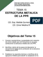 PPR TEMA 15 ESTRUCTURA METALICA, TEMA 16 ACRILIZADO DE LA PPR.pdf