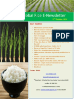 15th October,2014 Daily Global Rice E-Newsletter by Riceplus Magazine