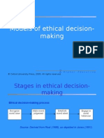 Models in Ethical Decision Making