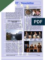 Newsletter December 2009