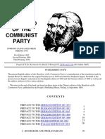 Karl Marx Communist Manifesto