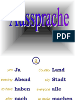 Aussprache Learn German Aprender Aleman