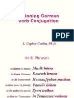 Conjugation 2 Learn German Aprender Aleman