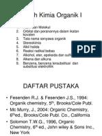 Kuliah Kimia Organik I