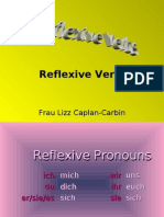 Reflexive Learn German Aprender Aleman