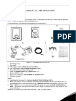 HMI Door Keypad Mounting Instruction DPD01169E UK