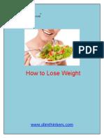 Weight Loss Tips Pdf