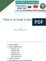 What is VB Script Programming