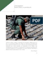 Camero, Mildred; Venezuela es un Narcorégimen - Entrevista.pdf