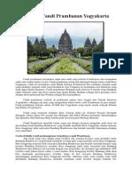 Sejarah Candi Prambanan Yogyakarta