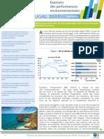 L'essentiel - examen environnemental OCDE du Portugal 2011