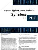 Big Data Syllabus