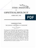 Pterygium Surgery British Journal