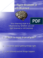 are you right-brained or left-brained