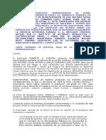 Bien Oculto - Silencio Adminstrativo - Demanda de Plena Jurisdicción - Contrato con el Estado.doc