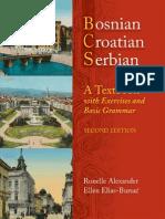 Bosnian Croatian Serbian