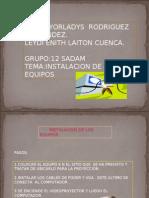 GRUPO 12 SADAM SABADO.DIAPOSITIVAS