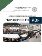 Konjic Food Fest 2014, izvjestaj