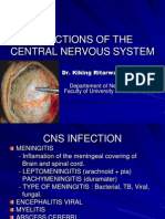 K - 18 Infection of the CNS (Neurologi)