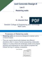 Rcc Lec 03 Retaining Walls