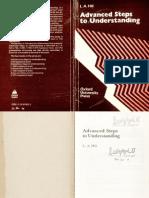 Leslie A. Hill. Advanced Steps to Understanding.pdf