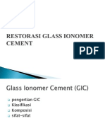 Restorasi Glass Ionomer Cement Fix