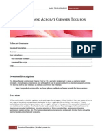 Adobe Reader and Acrobat Cleaner Tool for 10.x and Later
