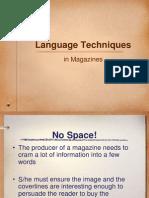 language techniques ppt