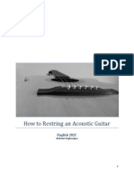 How to Restring an Acoustic Guitar Nicholas Ongkowijaya