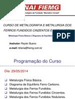 Curso de Metalogra e Metalurgia dos Ferros Fundidos rev 2.ppt