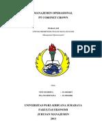 MANAJEMEN OPERASIONAL PT.CORONET CROWN.docx