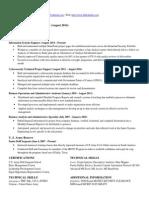 Blackshire Resume 2014