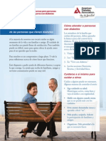 caregiving-spanish dbt