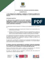 INFORME DE GESTIÓN DEFENSOR DEL CIUDADANO II SEMESTRE DE 2013