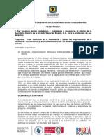 INFORME DE GESTIÓN DEFENSOR DEL CIUDADANO I SEMESTRE 2014