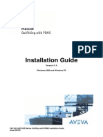 VANTAGE Marine Outfitting With PDMS Installation Guide