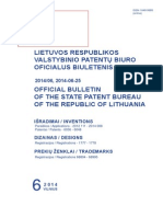 Lithuania No. 6-14 Date 6-25-14 W453