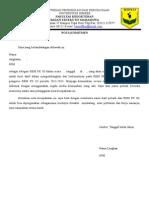 Nota Komitmen Delegasi