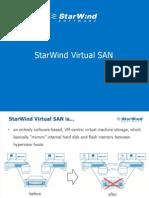 StarWind Virtual SAN Overview