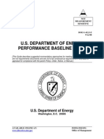 DOE-Performance Baseline Guide