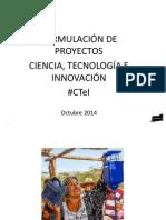 Ponencia I Congreso Regional Ciencia, Tecnología e Innovación