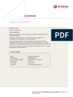Gps Summary Ethylene Cyanohydrin