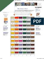 Ral Colour Chart 01