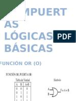 Compuertas lógicas  básicas expoooo MIA Y ROBERTO.pptx