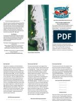 Navarre Beach Marine Sanctuary Brochure