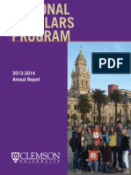 National Scholars 2013-2014 Annual Report