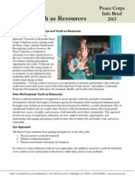 Youth as Resources Global InfoBrief FY2013