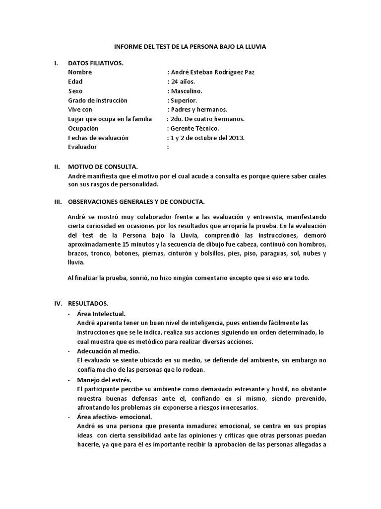 INFORME DEL TEST DE LA PERSONA BAJO LA LLUVIAdocx