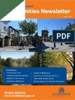 Communities Newsletter September 2014