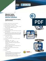 SC250_Metal Tube Flowmeter